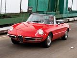 Images of Alfa Romeo 1750 Spider Veloce US-spec 105 (1968–1969)