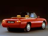 Photos of Alfa Romeo Spider 115 (1990–1993)