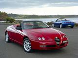 Photos of Alfa Romeo Spider AU-spec 916 (2003–2005)