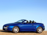 Photos of Alfa Romeo Spider UK-spec 939E (2006–2010)