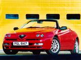 Photos of Alfa Romeo Spider UK-spec 916 (1998–2003)