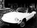 Pictures of Alfa Romeo 2000 Spider Veloce US-spec 115 (1975–1983)