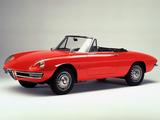 Pictures of Alfa Romeo Spider 1600 Duetto 105 (1966–1967)