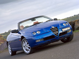 Alfa Romeo Spider AU-spec 916 (2003–2005) wallpapers