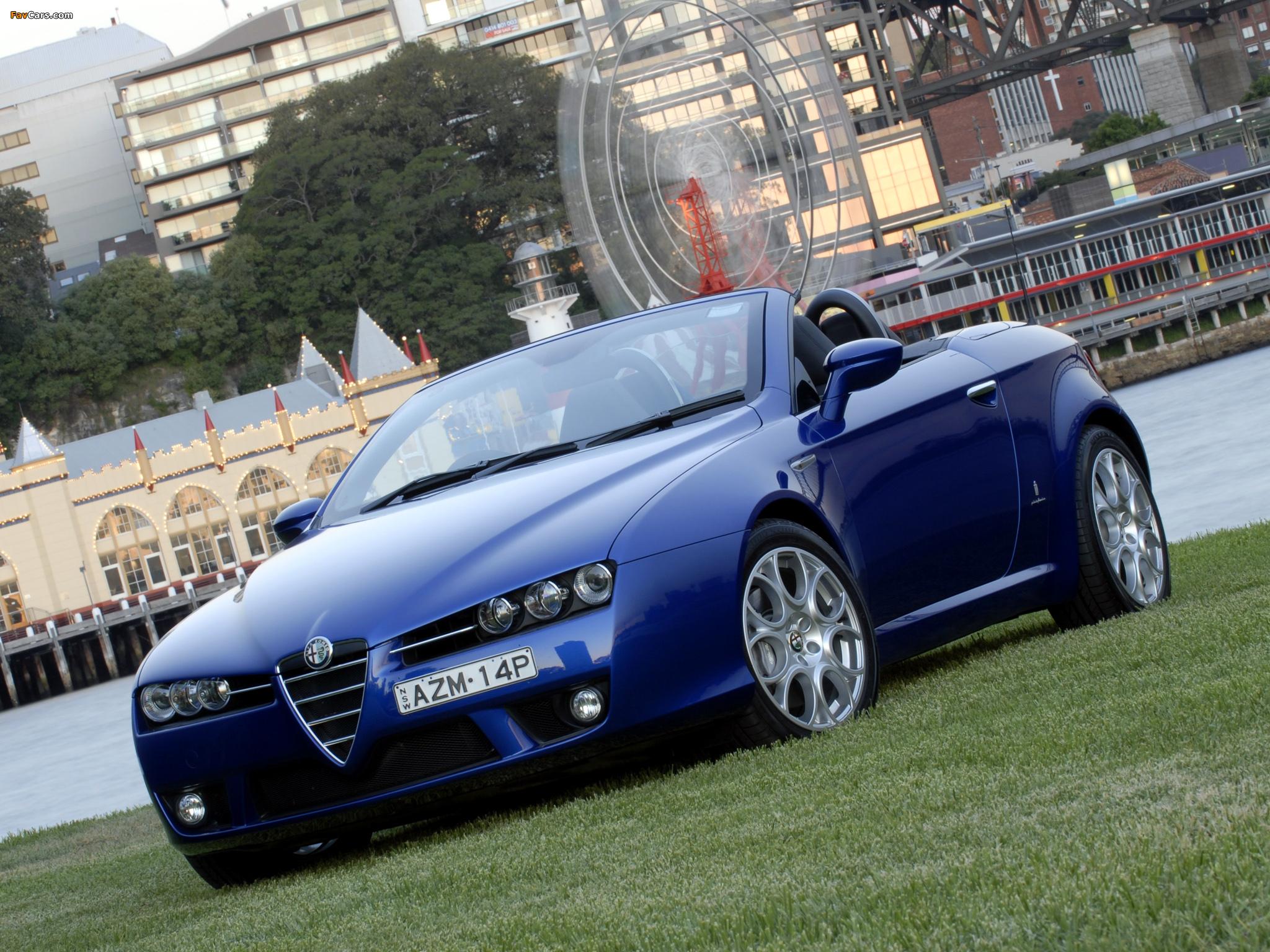 Alfa Romeo Spider AU-spec 939E (2006–2010) wallpapers (2048x1536)