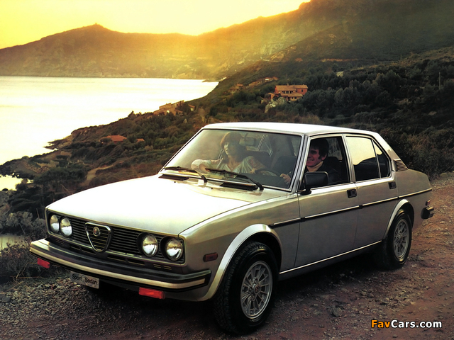 Alfa Romeo Sport Sedan 116 (1978–1981) images (640 x 480)