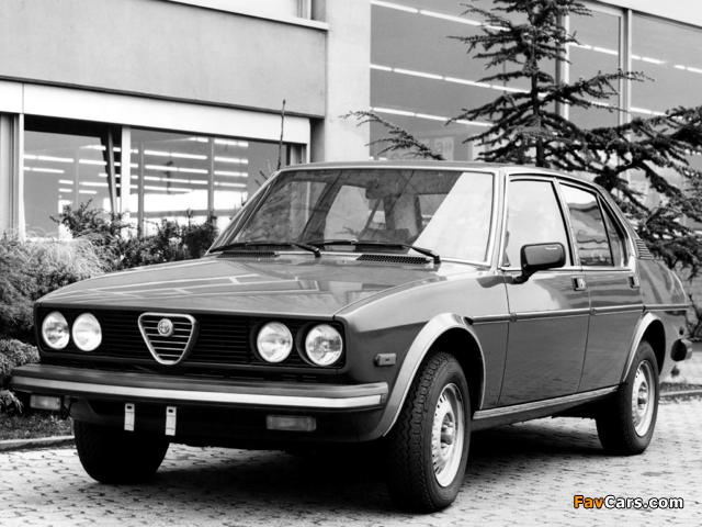 Images of Alfa Romeo Sport Sedan 116 (1978–1981) (640 x 480)