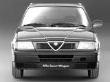 Photos of Alfa Romeo Sport Wagon 907 (1990–1994)