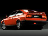 Alfa Romeo Sprint 1.7 Quadrifoglio Verde 902 (1987–1989) wallpapers