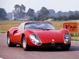 Alfa Romeo Tipo 33 Stradale Prototipo (1967) pictures