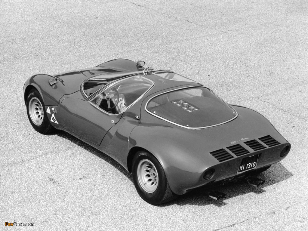 Alfa Romeo Tipo 33 Stradale Prototipo (1967) pictures (1024 x 768)