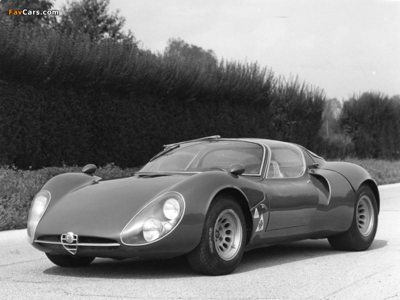 Alfa Romeo Tipo 33 Stradale Prototipo (1967) wallpapers (800 x 600)
