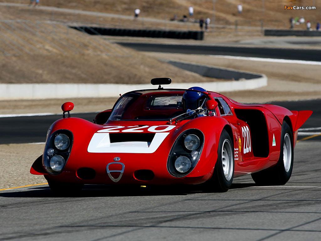 Alfa Romeo Tipo 33/2 Daytona (1968–1969) pictures (1024 x 768)