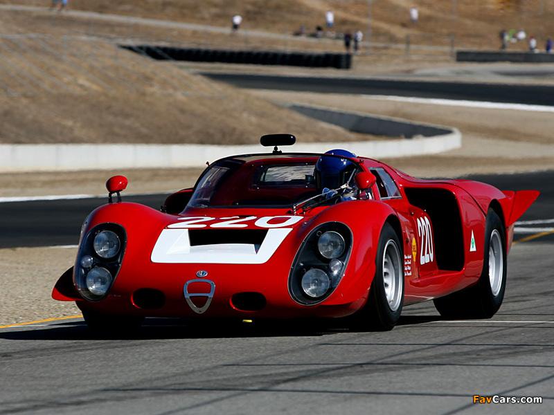 Alfa Romeo Tipo 33/2 Daytona (1968–1969) pictures (800 x 600)