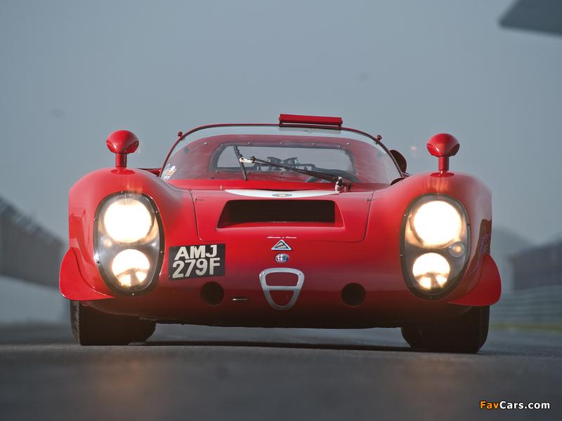 Alfa Romeo Tipo 33/2 Daytona (1968–1969) wallpapers (800 x 600)