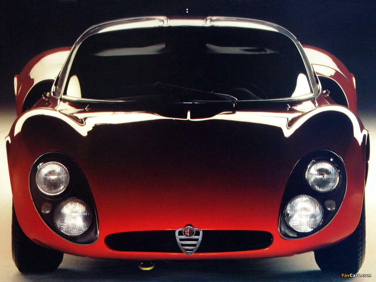 Alfa Romeo Tipo 33 Stradale Prototipo (1967) images (1280 x 960)