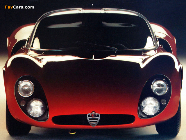 Alfa Romeo Tipo 33 Stradale Prototipo (1967) images (640 x 480)