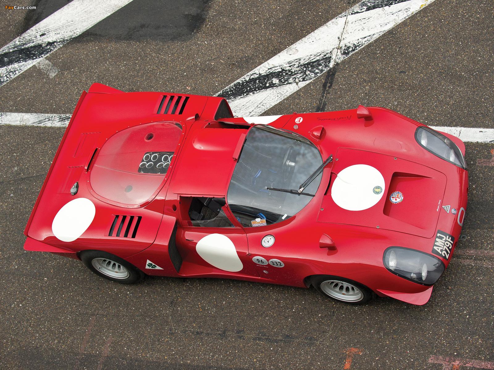 Alfa Romeo Tipo 33/2 Daytona (1968–1969) images (1600 x 1200)