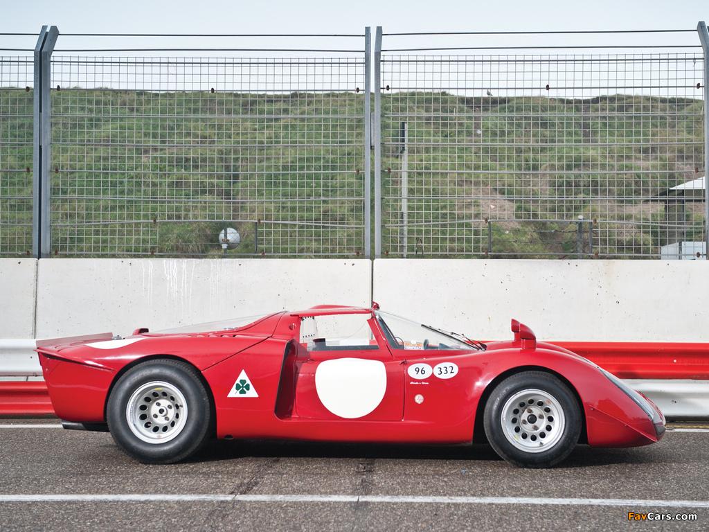 Alfa Romeo Tipo 33/2 Daytona (1968–1969) photos (1024 x 768)