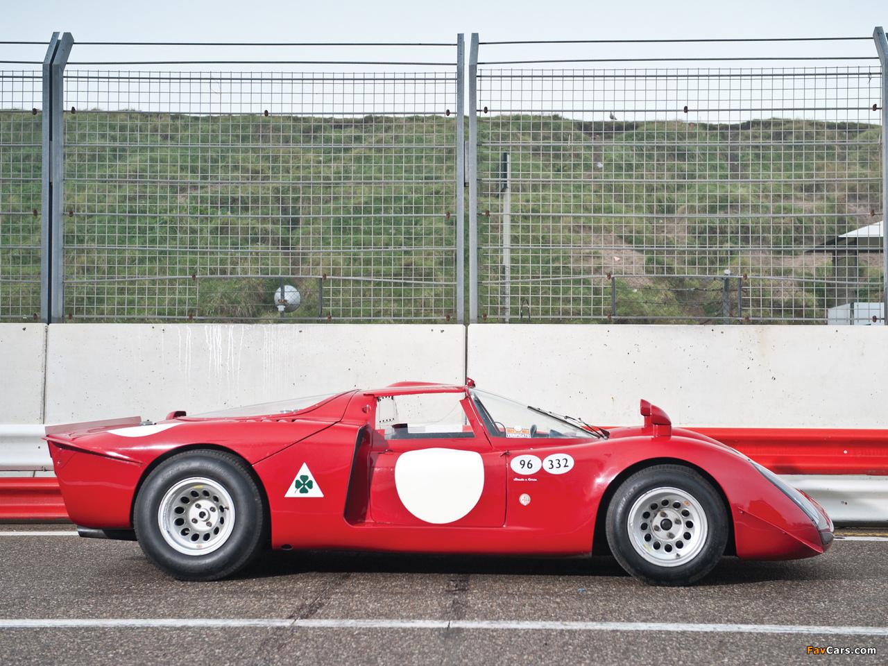 Alfa Romeo Tipo 33/2 Daytona (1968–1969) photos (1280 x 960)