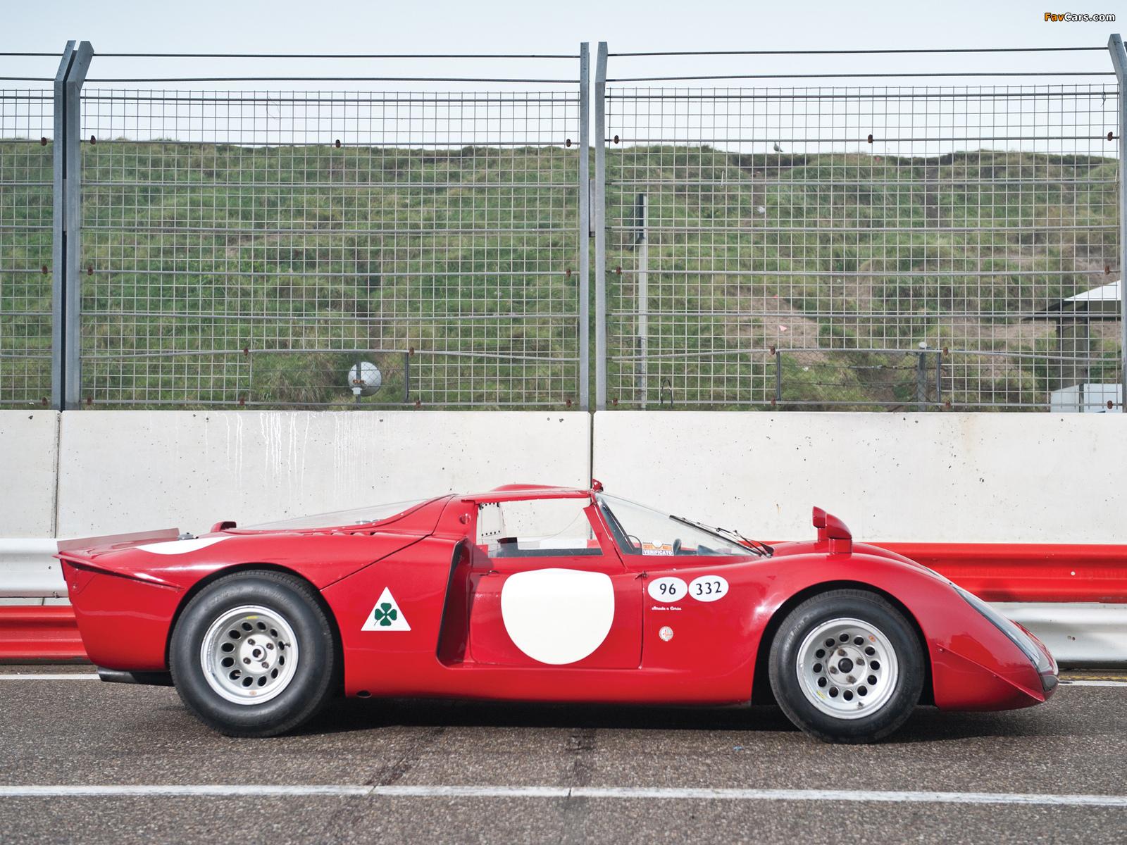 Alfa Romeo Tipo 33/2 Daytona (1968–1969) photos (1600 x 1200)