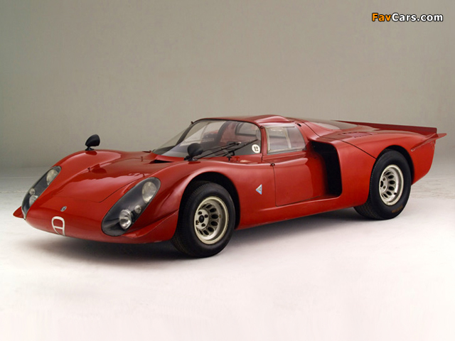 Alfa Romeo Tipo 33/2 Daytona (1968–1969) pictures (640 x 480)