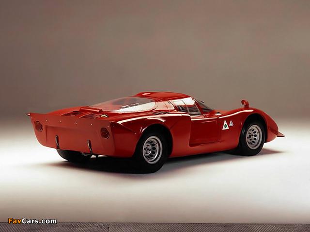 Alfa Romeo Tipo 33/2 Daytona (1968–1969) wallpapers (640 x 480)