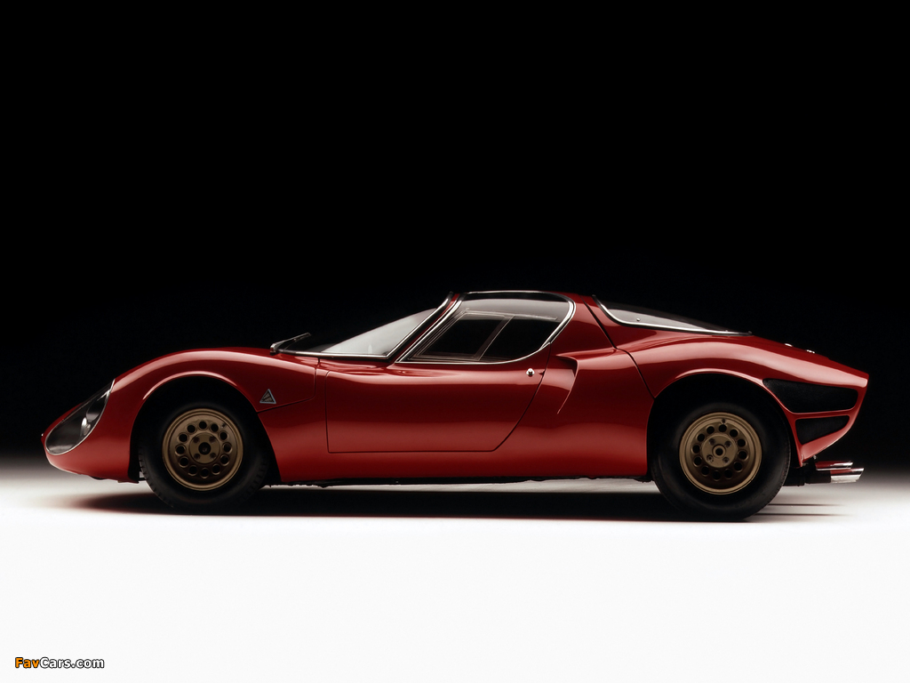 Images of Alfa Romeo Tipo 33 Stradale Prototipo (1967) (1024 x 768)