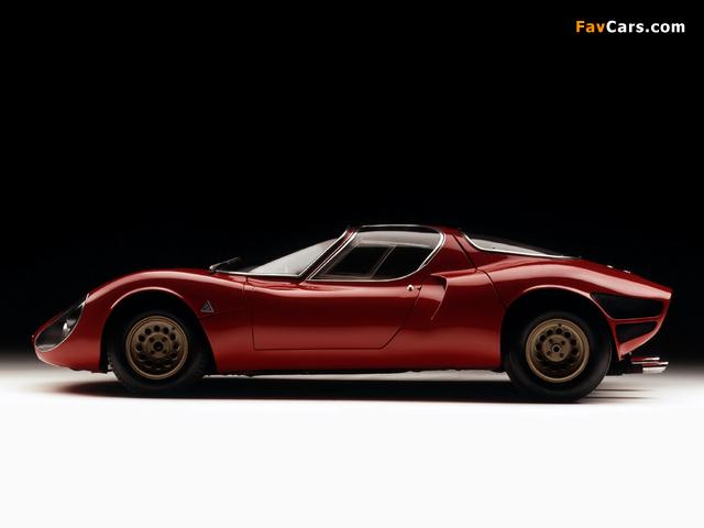 Images of Alfa Romeo Tipo 33 Stradale Prototipo (1967) (640 x 480)