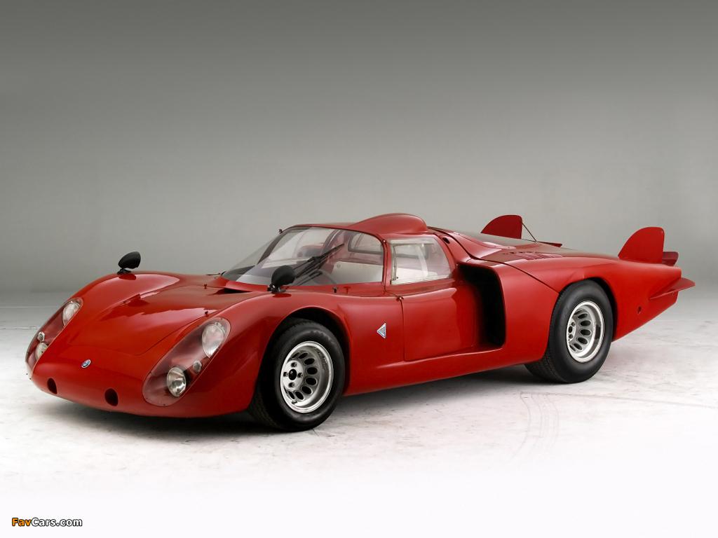 Images of Alfa Romeo Tipo 33/2 Le Mans (1968–1969) (1024 x 768)