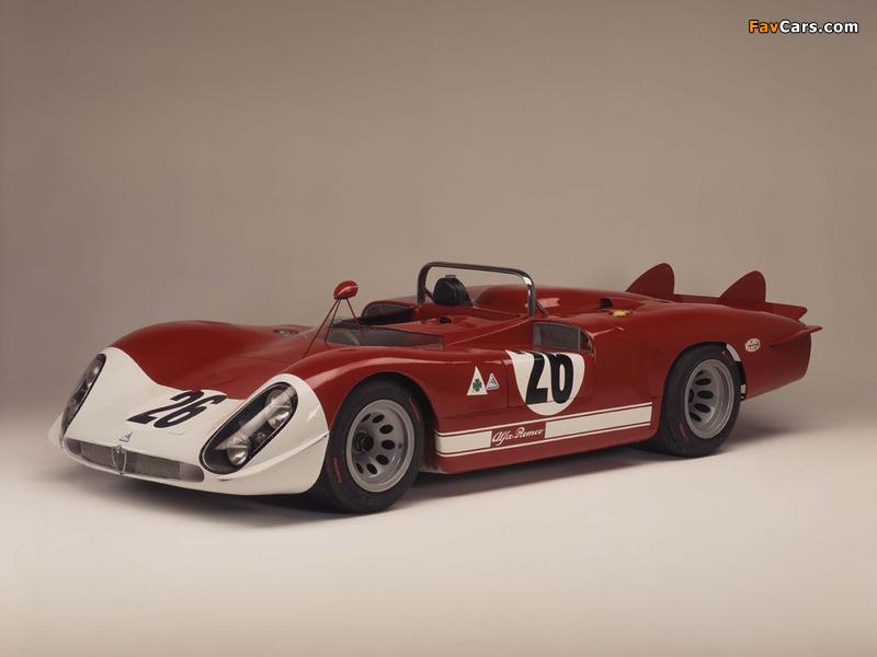 Images of Alfa Romeo Tipo 33/3 Le Mans (1969–1971) (800 x 600)
