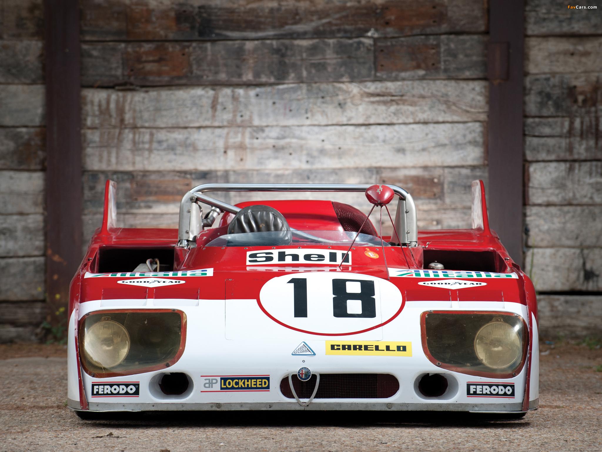 Images of Alfa Romeo Tipo 33TT3 (1972–1973) (2048 x 1536)