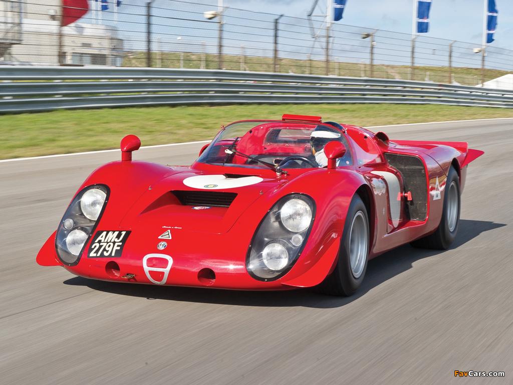 Images of Alfa Romeo Tipo 33/2 Daytona (1968–1969) (1024 x 768)