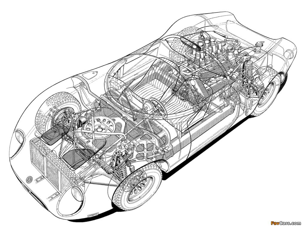 Photos of Alfa Romeo Tipo 33/2 Fleron (1967–1968) (1024 x 768)