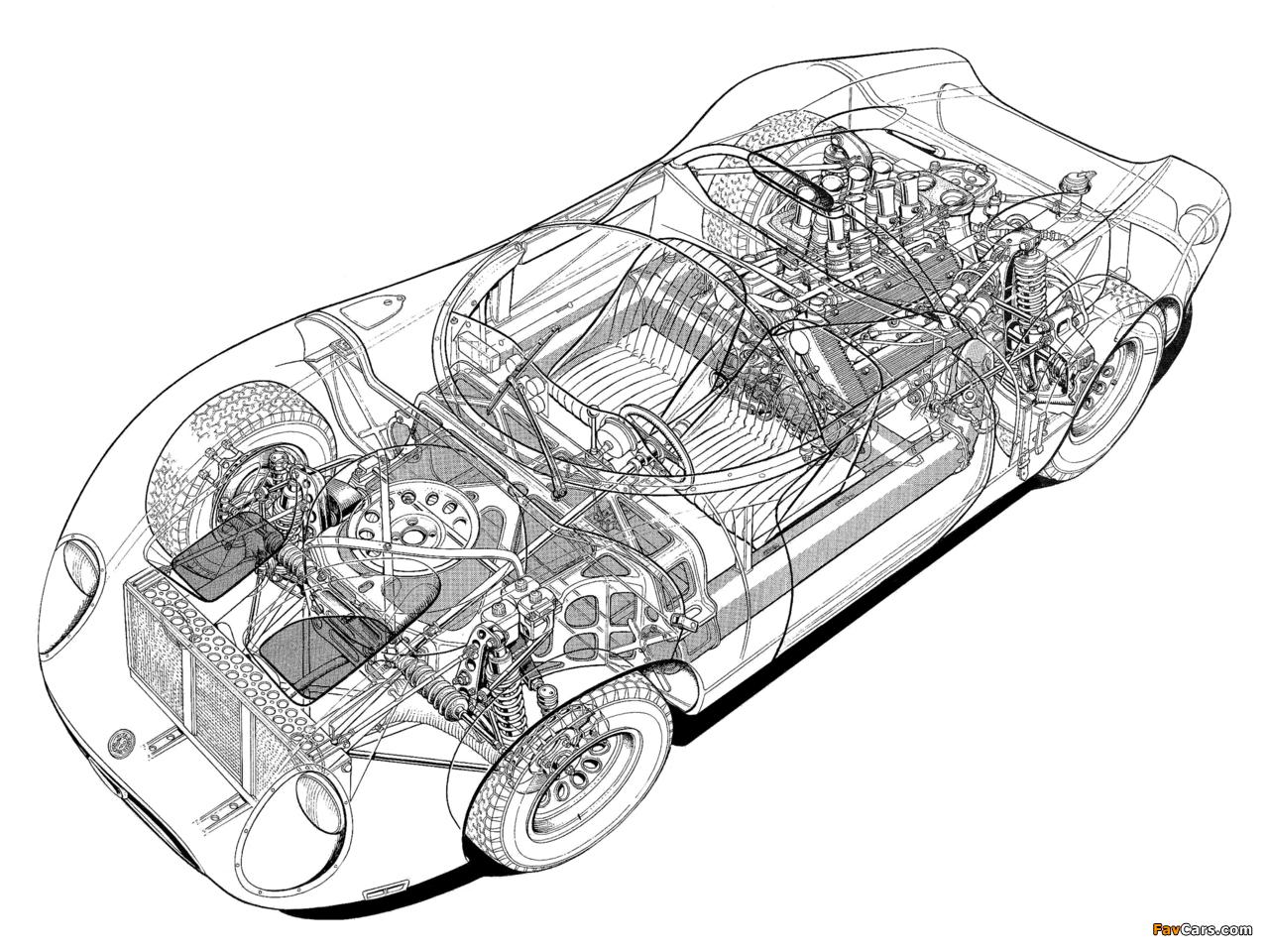 Photos of Alfa Romeo Tipo 33/2 Fleron (1967–1968) (1280 x 960)