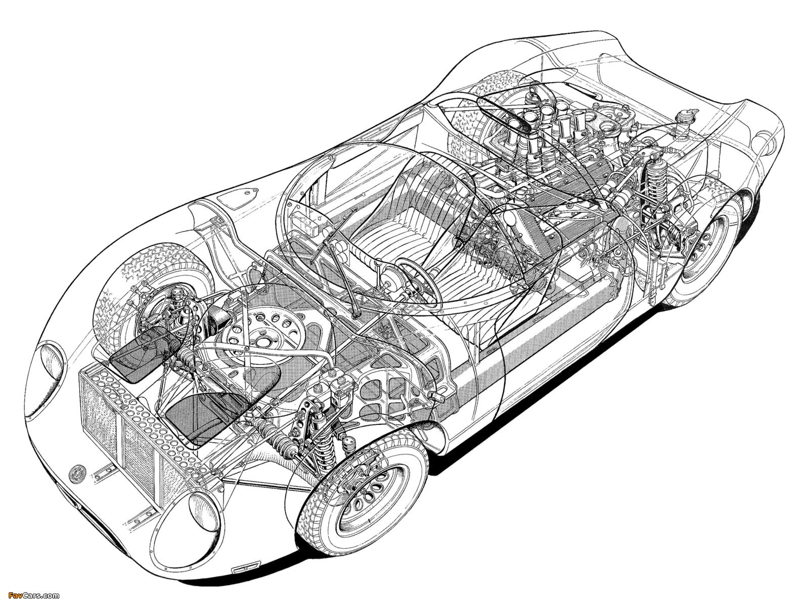 Photos of Alfa Romeo Tipo 33/2 Fleron (1967–1968) (1600 x 1200)