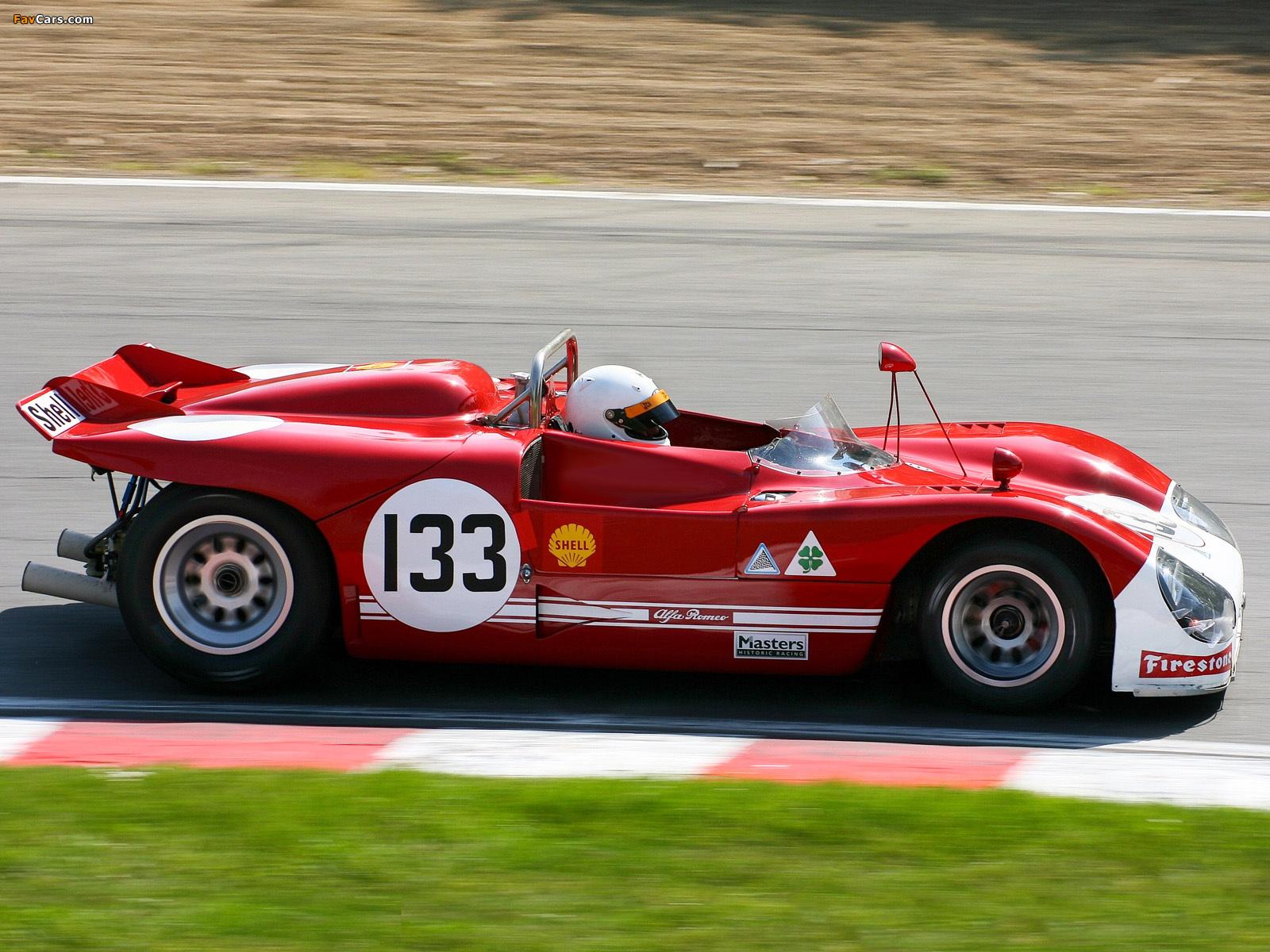 Photos of Alfa Romeo Tipo 33 TT3 Spider (1971–1972) (1600 x 1200)