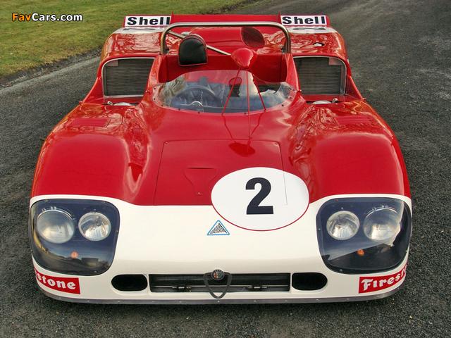 Photos of Alfa Romeo Tipo 33 TT3 Spider (1971–1972) (640 x 480)