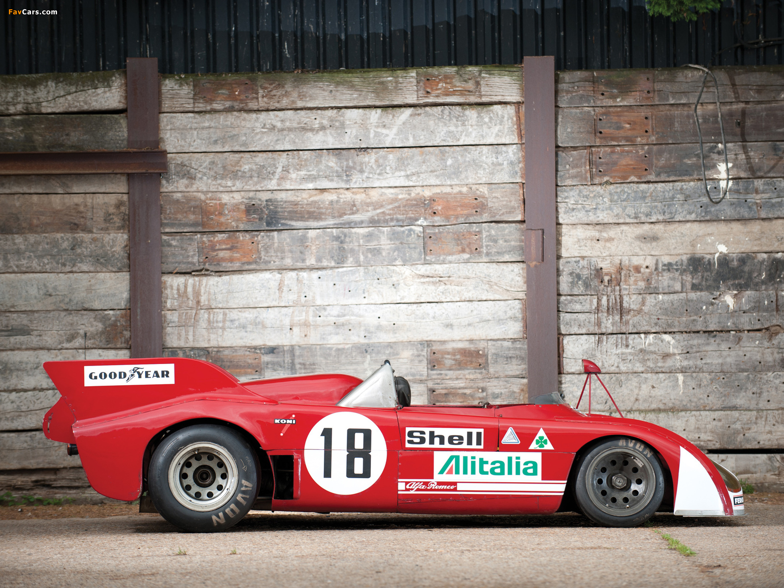 Photos of Alfa Romeo Tipo 33TT3 (1972–1973) (1600 x 1200)