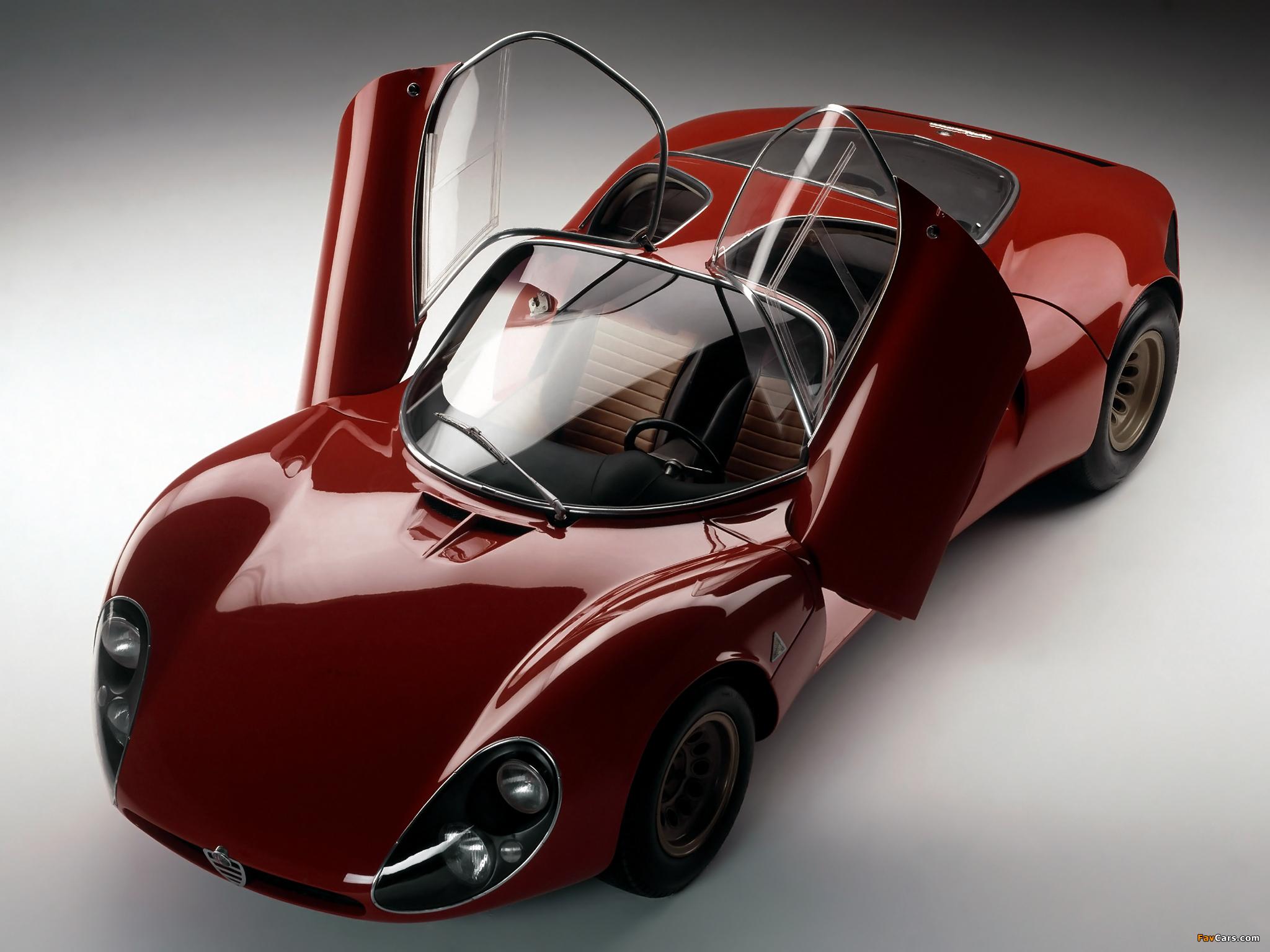 Photos of Alfa Romeo Tipo 33 Stradale Prototipo (1967) (2048 x 1536)