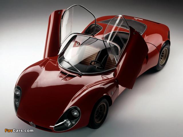 Photos of Alfa Romeo Tipo 33 Stradale Prototipo (1967) (640 x 480)