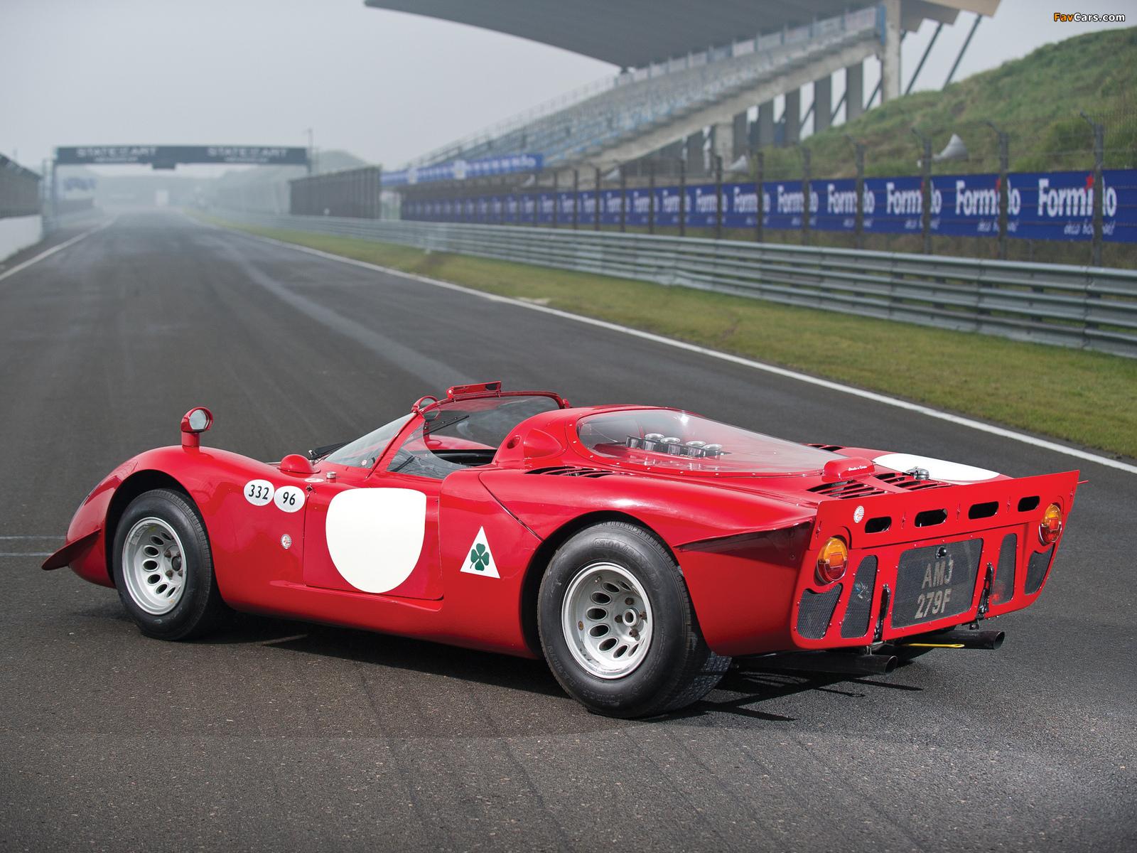 Photos of Alfa Romeo Tipo 33/2 Daytona (1968–1969) (1600 x 1200)