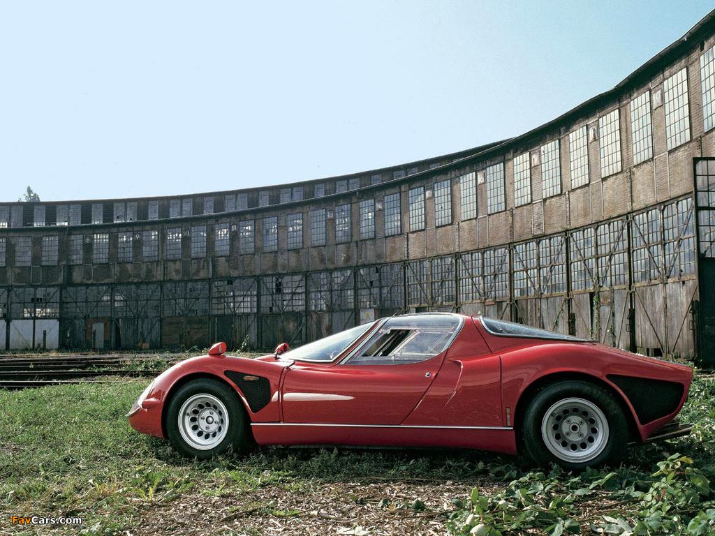 Pictures of Alfa Romeo Tipo 33 Stradale (1967–1969) (1024 x 768)