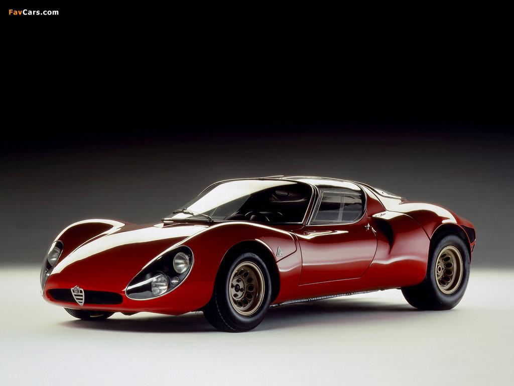 Pictures of Alfa Romeo Tipo 33 Stradale Prototipo (1967) (1024 x 768)