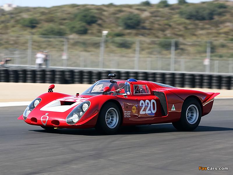 Pictures of Alfa Romeo Tipo 33/2 Daytona (1968–1969) (800 x 600)