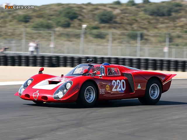 Pictures of Alfa Romeo Tipo 33/2 Daytona (1968–1969) (640 x 480)