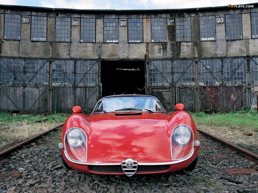 Alfa Romeo Tipo 33 Stradale (1967–1969) wallpapers (1024 x 768)
