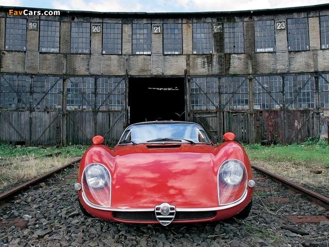 Alfa Romeo Tipo 33 Stradale (1967–1969) wallpapers (640 x 480)