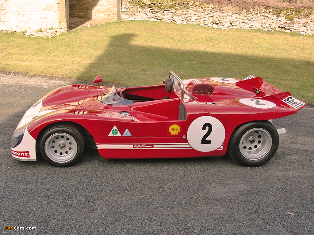 Alfa Romeo Tipo 33 TT3 Spider (1971–1972) wallpapers (1024 x 768)