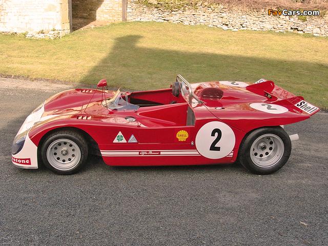 Alfa Romeo Tipo 33 TT3 Spider (1971–1972) wallpapers (640 x 480)